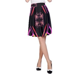 Alphabet Shirtjhjervbret (2)fv A-Line Skirt