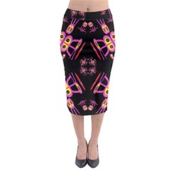 Alphabet Shirtjhjervbret (2)fv Midi Pencil Skirt