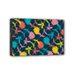 Colorful Floral Pattern Mini Canvas 6  x 4