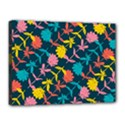 Colorful Floral Pattern Canvas 16  x 12  View1