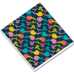 Colorful Floral Pattern Small Memo Pads by DanaeStudio