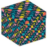 Colorful Floral Pattern Storage Stool 12
