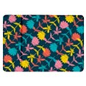 Colorful Floral Pattern Samsung Galaxy Tab 8.9  P7300 Flip Case View1
