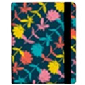 Colorful Floral Pattern Samsung Galaxy Tab 8.9  P7300 Flip Case View2