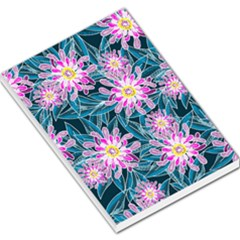 Whimsical Garden Large Memo Pads by DanaeStudio