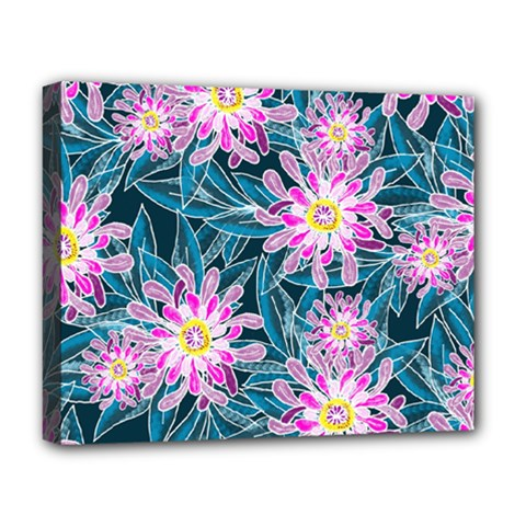 Whimsical Garden Deluxe Canvas 20  X 16   by DanaeStudio