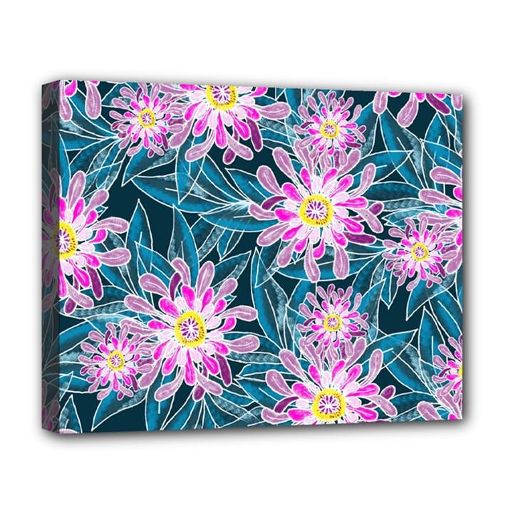 Whimsical Garden Deluxe Canvas 20  x 16