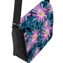 Whimsical Garden Flap Messenger Bag (L)  View2