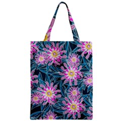 Whimsical Garden Zipper Classic Tote Bag by DanaeStudio