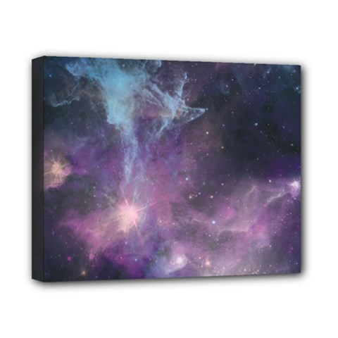 Blue Galaxy  Canvas 10  X 8