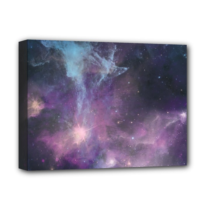 Blue Galaxy  Deluxe Canvas 16  x 12