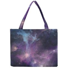 Blue Galaxy  Mini Tote Bag by DanaeStudio
