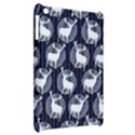 Geometric Deer Retro Pattern Apple iPad Mini Hardshell Case View2