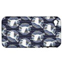 Geometric Deer Retro Pattern Apple iPhone 4/4S Hardshell Case (PC+Silicone) View1