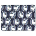 Geometric Deer Retro Pattern Samsung Galaxy Tab 7  P1000 Flip Case View1
