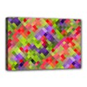 Colorful Mosaic Canvas 18  x 12  View1
