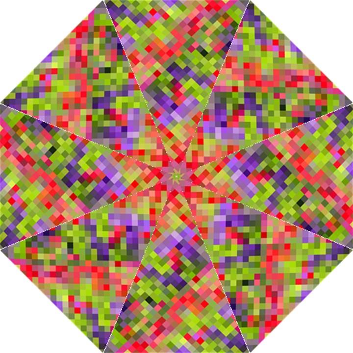 Colorful Mosaic Straight Umbrellas