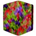 Colorful Mosaic Apple iPad 2 Flip Case View4