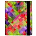 Colorful Mosaic Apple iPad Mini Flip Case View2
