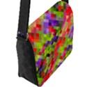 Colorful Mosaic Flap Messenger Bag (L)  View2