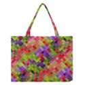 Colorful Mosaic Medium Tote Bag View1