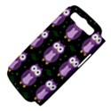 Halloween purple owls pattern Samsung Galaxy S III Hardshell Case (PC+Silicone) View4