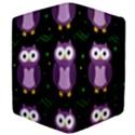 Halloween purple owls pattern Apple iPad 3/4 Flip Case View4