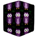 Halloween purple owls pattern Apple iPad Mini Flip Case View4