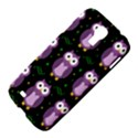 Halloween purple owls pattern Samsung Galaxy S4 I9500/I9505 Hardshell Case View4