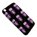 Halloween purple owls pattern Samsung Galaxy Tab 3 (8 ) T3100 Hardshell Case  View5