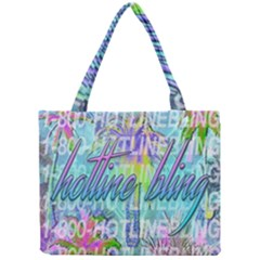 Drake 1 800 Hotline Bling Mini Tote Bag by Onesevenart