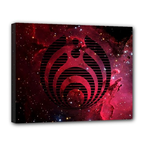 Bassnectar Galaxy Nebula Canvas 14  X 11  by Onesevenart