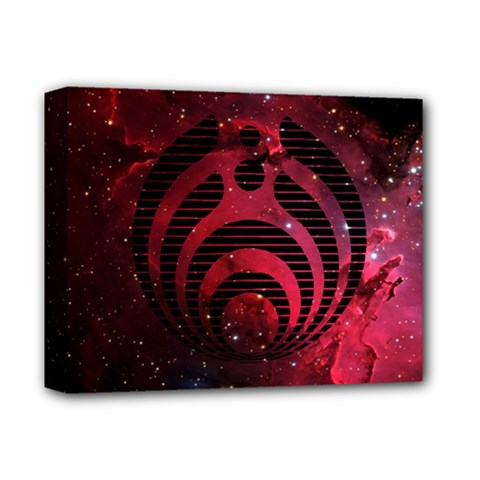 Bassnectar Galaxy Nebula Deluxe Canvas 14  X 11  by Onesevenart