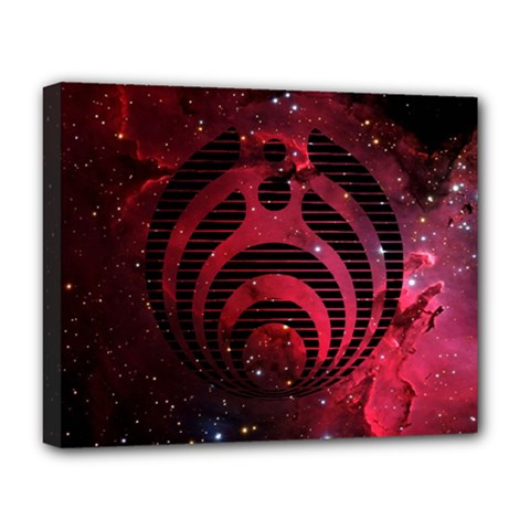 Bassnectar Galaxy Nebula Deluxe Canvas 20  X 16   by Onesevenart