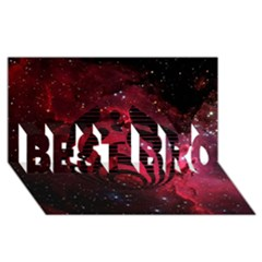 Bassnectar Galaxy Nebula Best Bro 3d Greeting Card (8x4) by Onesevenart