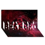 Bassnectar Galaxy Nebula BEST BRO 3D Greeting Card (8x4)