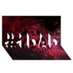 Bassnectar Galaxy Nebula #1 DAD 3D Greeting Card (8x4)