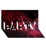 Bassnectar Galaxy Nebula PARTY 3D Greeting Card (8x4)