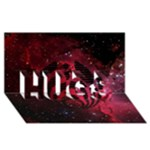 Bassnectar Galaxy Nebula HUGS 3D Greeting Card (8x4)