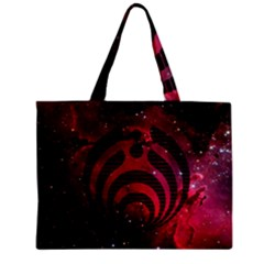 Bassnectar Galaxy Nebula Zipper Mini Tote Bag by Onesevenart