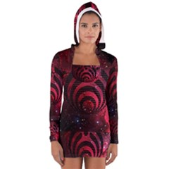 Bassnectar Galaxy Nebula Women s Long Sleeve Hooded T Shirt by Onesevenart