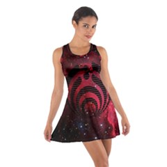 Bassnectar Galaxy Nebula Cotton Racerback Dress by Onesevenart