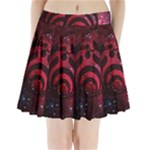 Bassnectar Galaxy Nebula Pleated Mini Skirt