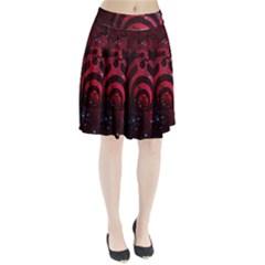 Bassnectar Galaxy Nebula Pleated Skirt by Onesevenart