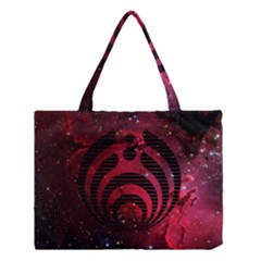 Bassnectar Galaxy Nebula Medium Tote Bag by Onesevenart