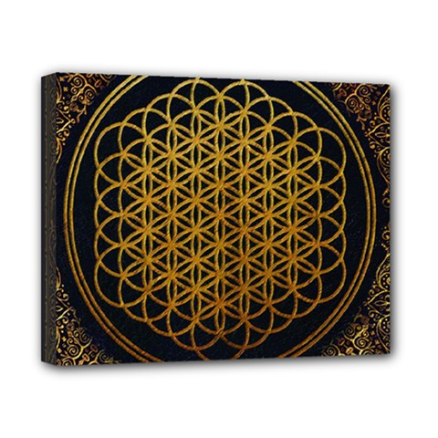 Bring Me The Horizon Cover Album Gold Canvas 10  X 8  by Onesevenart
