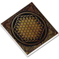 Bring Me The Horizon Cover Album Gold Small Memo Pads by Onesevenart
