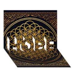 Bring Me The Horizon Cover Album Gold Hope 3d Greeting Card (7x5) by Onesevenart