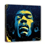 Gabz Jimi Hendrix Voodoo Child Poster Release From Dark Hall Mansion Mini Canvas 8  x 8