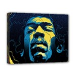 Gabz Jimi Hendrix Voodoo Child Poster Release From Dark Hall Mansion Canvas 10  x 8